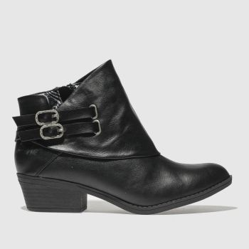 Blowfish Black Sistee Womens Boots