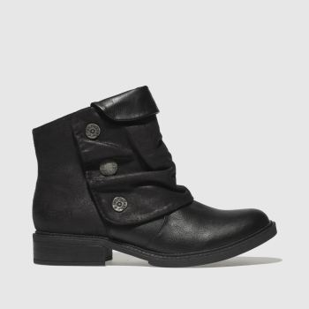 Blowfish Malibu Black Vynn Womens Boots