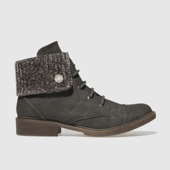 Blowfish Grey Virtrue Womens Boots
