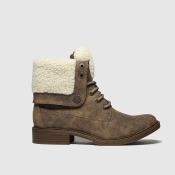 Blowfish Malibu Brown Vyxie Womens Boots