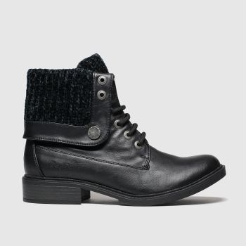 Blowfish Malibu Black Vyxie Boots