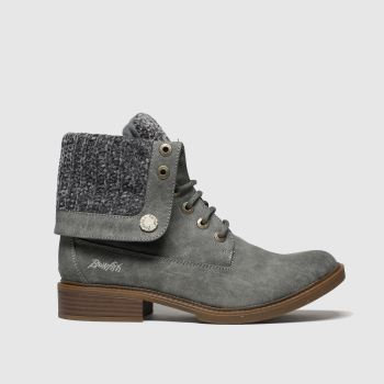 Blowfish Malibu Dark Grey Vyxie Womens Boots