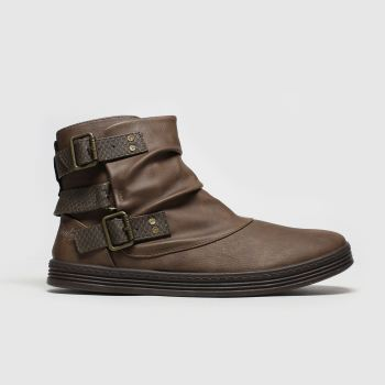 Blowfish Malibu Brown Francesca Womens Boots