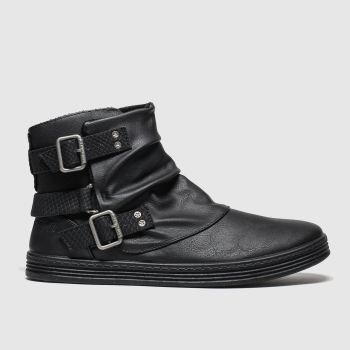 Blowfish Malibu Black Francesca Womens Boots