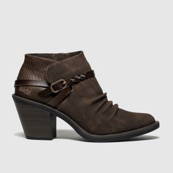 Blowfish Brown Lama Vegan Womens Boots