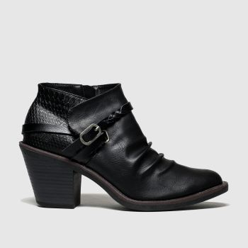 Blowfish Malibu Schwarz Lama Vegan Damen Boots