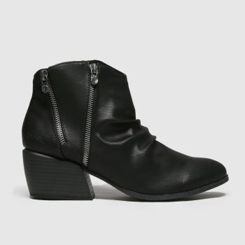 Blowfish Malibu Black Charly Vegan Womens Boots