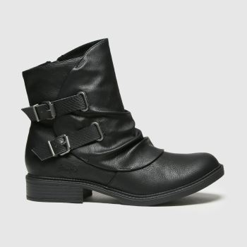 Blowfish Malibu Black Violat Vegan Womens Boots