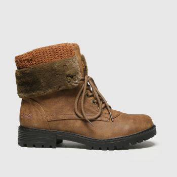 Blowfish Malibu Brown Ralee Vegan Womens Boots