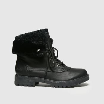 Blowfish Malibu Black Ralee Vegan Womens Boots
