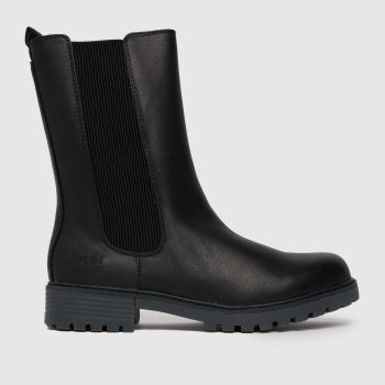 Blowfish Malibu Black Rebecca Hi Vegan Womens Boots