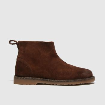 BIRKENSTOCK Brown Melrose Womens Boots