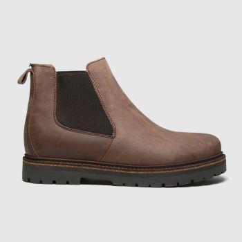 BIRKENSTOCK Brown Stalon Womens Boots#