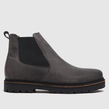 BIRKENSTOCK Grey Birk Stalon Womens Boots
