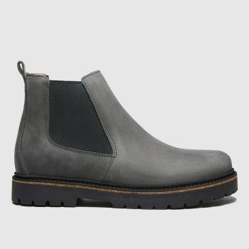BIRKENSTOCK Grey Stalon Womens Boots