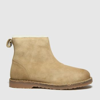 BIRKENSTOCK Beige Melrose Womens Boots