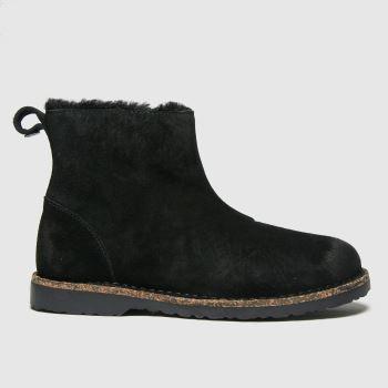 BIRKENSTOCK Black Melrose Womens Boots