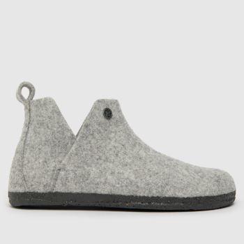 BIRKENSTOCK Grey Andermatt Womens Slippers