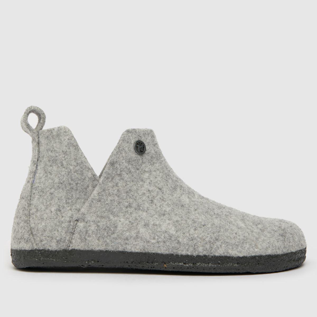 BIRKENSTOCK Grey Andermatt Slippers