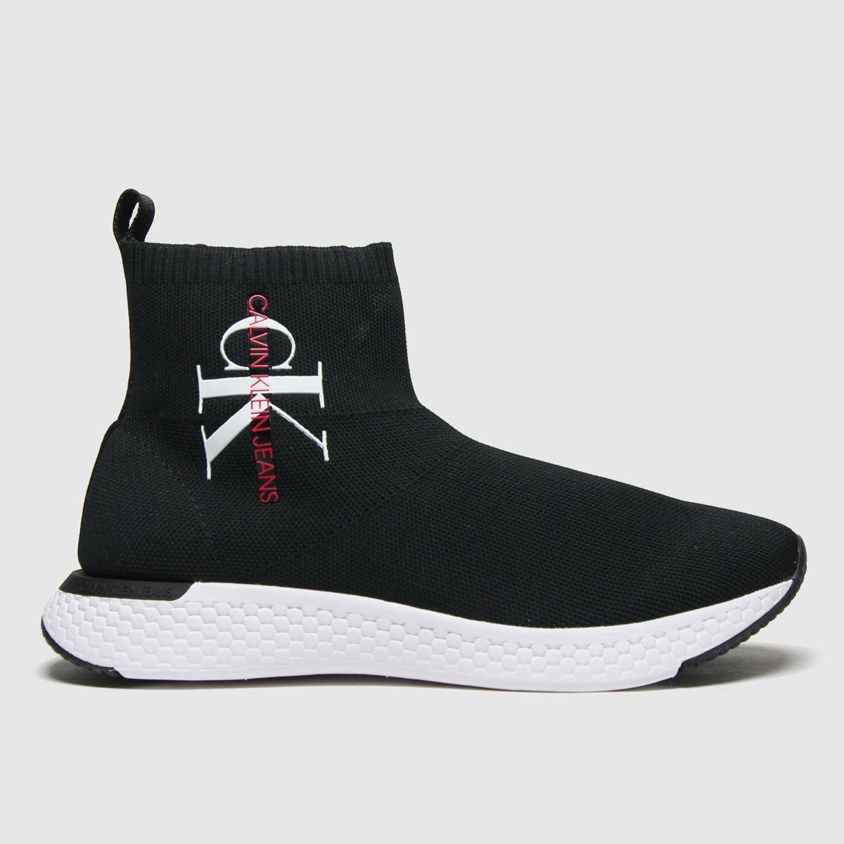 CALVIN KLEIN Black & White J Adalea Boots