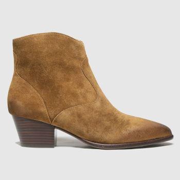 ASH Tan Heidi Womens Boots