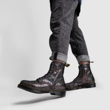 Dr Martens 8 Eye Iridescent Crackle 1