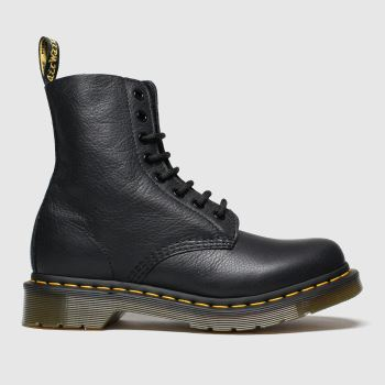 b4029c6c4238 Dr Martens Black Pascal 8 Eye Boot Womens Boots
