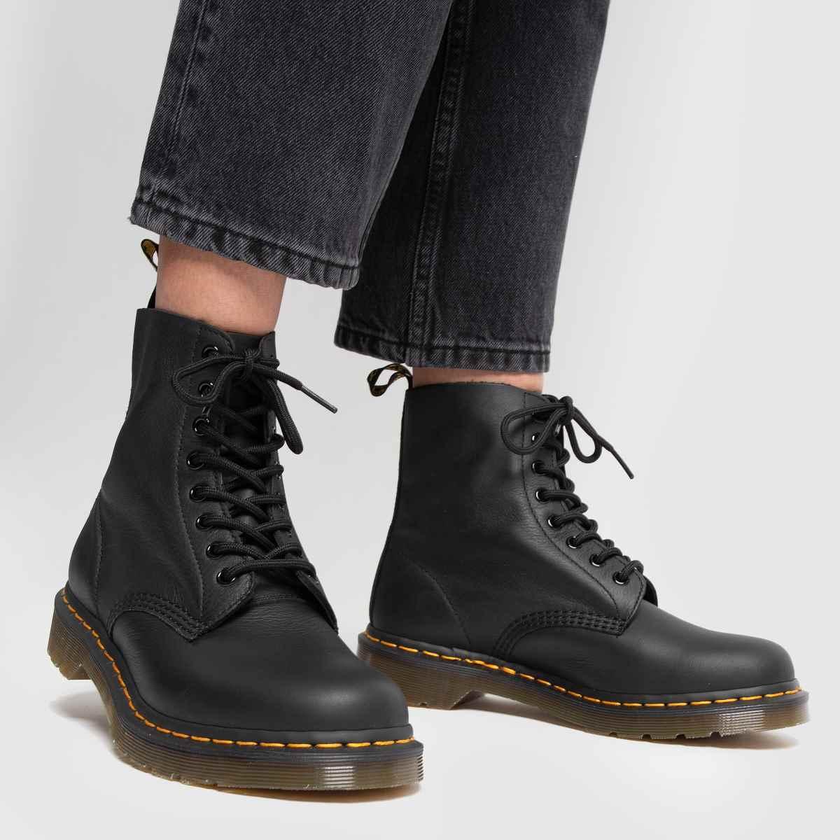 Damen Schwarz dr martens Pascal 8 Eye Boot Qualität Boots | schuh Gute Qualität Boot beliebte Schuhe 715be4