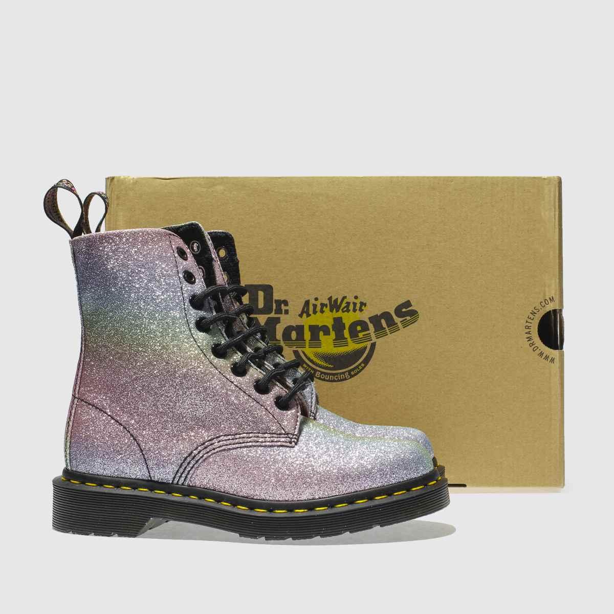 Damen Pink-violett dr martens Pascal 8 Eye Qualität Boots | schuh Gute Qualität Eye beliebte Schuhe d29b55