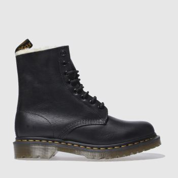 Dr Martens Black Serena 8 Eye Ii Womens Boots