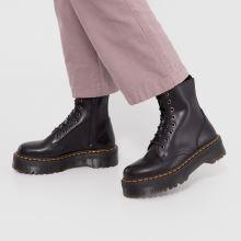 c4e94357a6d3 womens black dr martens jadon 8 eye boots