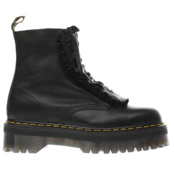 DR MARTENS BLACK JUNGLE BOOT LAZY OAF BOOTS
