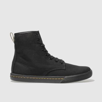 Dr Martens Black Sheridan Womens Boots