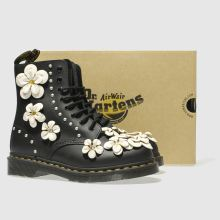 Dr Martens pascal 8 eye flower 1