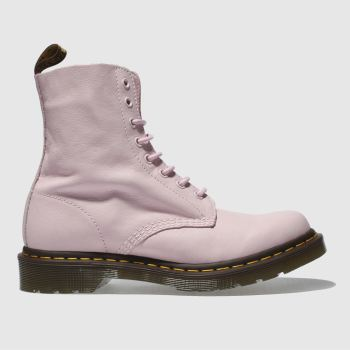 Dr Martens Pale Pink Pascal 8 Eye Boot Womens Boots