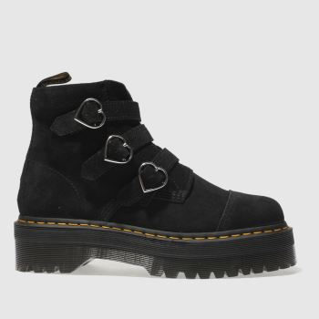 Dr Martens Black Buckle Boot Lazy Oaf Womens Boots