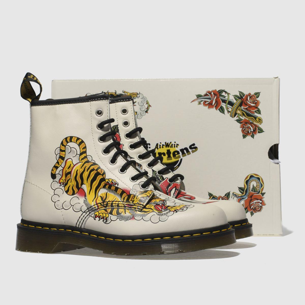 Damen Steingrau-schwarz dr martens 1460 Grez Tattoo Tiger Qualität Boots | schuh Gute Qualität Tiger beliebte Schuhe 965b48