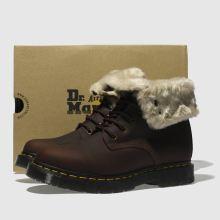 na wyprzedaży uroczy 100% najwyższej jakości dr martens brown 1460 kolbert snowplow boots