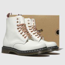 b00e564fb womens white & gold dr martens 1460 8 eye boot boots | schuh