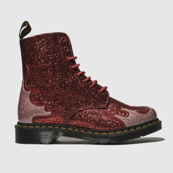 Dr Martens Red 1460 Pascal Flame Womens Boots