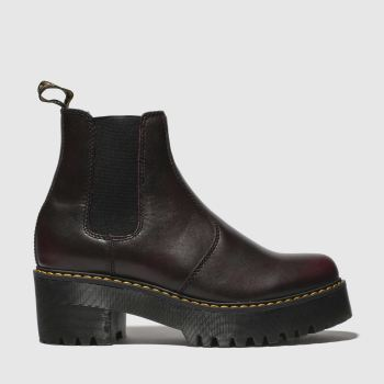 Dr Martens Burgundy Rometty Womens Boots