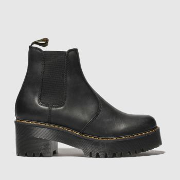 Dr Martens Black Rometty Womens Boots