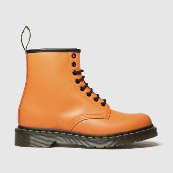 Dr Martens Orange 1460 8 Eye Womens Boots