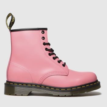 Dr Martens Pink 1460 8 Eye c2namevalue::Womens Boots