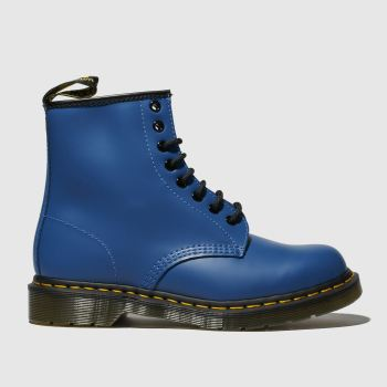 Dr Martens Blue 1460 8 Eye Womens Boots