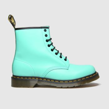 Dr Martens Light Green 1460 8 Eye Womens Boots