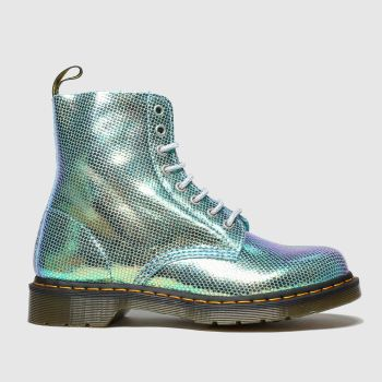 Dr Martens Turquoise 1460 Pascal Duo Chrome Womens Boots