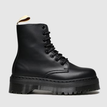 Dr Martens Black Jadon Ii Mono Vegan Womens Boots