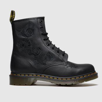 Dr Martens Black 1460 Vonda Mono Womens Boots