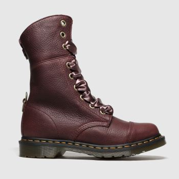 Dr Martens Burgundy Aimilita c2namevalue::Womens Boots